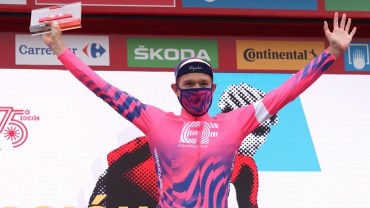 Vuelta a Espana: Magnus Cort wygrał etap. Primoz Roglic powiększa przewagę