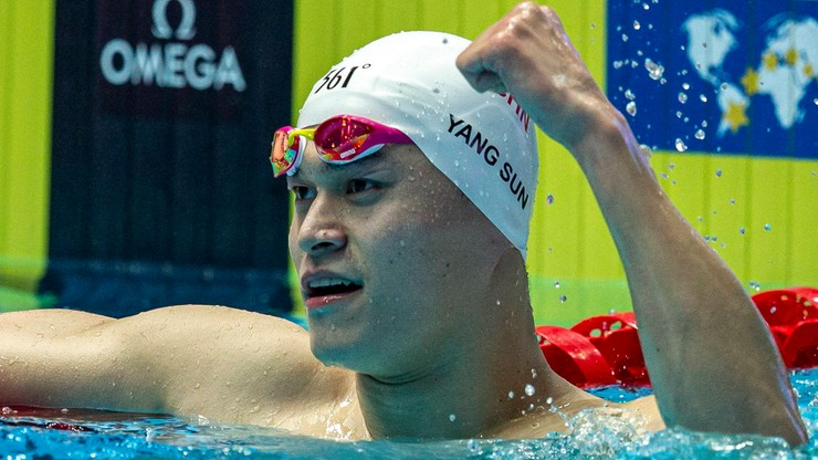 Skrócono dyskwalifikację chińskiego pływaka Suna Yanga