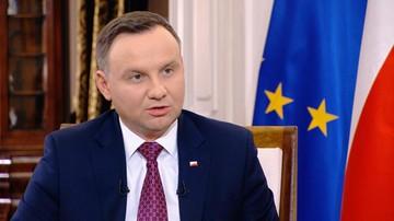 """Prezydent o """"trudnej współpracy"""" z szefem MON i rozliczeniu działań ministra Macierewicza"""