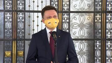 Przedstawiciel rządu może być w konflikcie z obywatelem - Hołownia o kandydaturze Wawrzyka