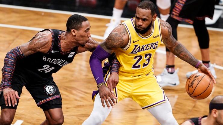 NBA: Russell poprowadził Nets do wygranej nad Lakers