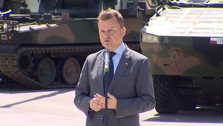 Błaszczak: rząd będzie prowadził rozmowy z osobami, które protestowały w Sejmie