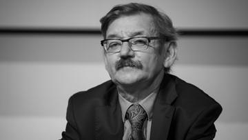 Zmarł Jerzy Targalski. Trafił wcześniej do szpitala
