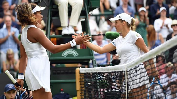 Wimbledon: Osaka odpadła już w I rundzie
