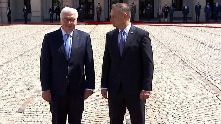 Prezydent Niemiec z wizytą w Polsce. Tematem rozmów m.in Nord Stream 2