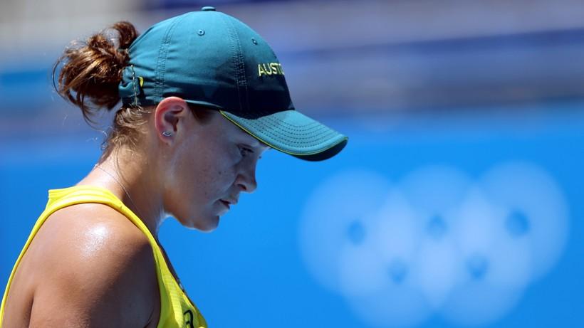 Tokio 2020: Sensacyjna porażka Ashleigh Barty. Andy Murray wycofał się z singla
