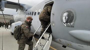 Grupa wojskowych medyków wyruszyła z Polski do Wielkiej Brytanii