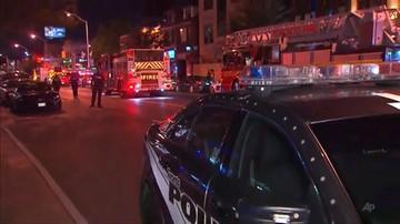 Strzelanina w Toronto. Co najmniej 9 osób zostało rannych; napastnik nie żyje