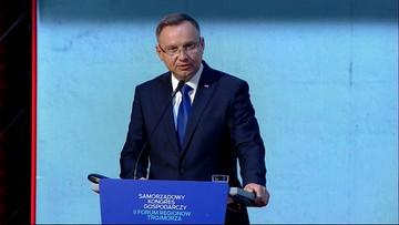 Andrzej Duda: kraje Trójmorza jako motor napędowy gospodarki europejskiej