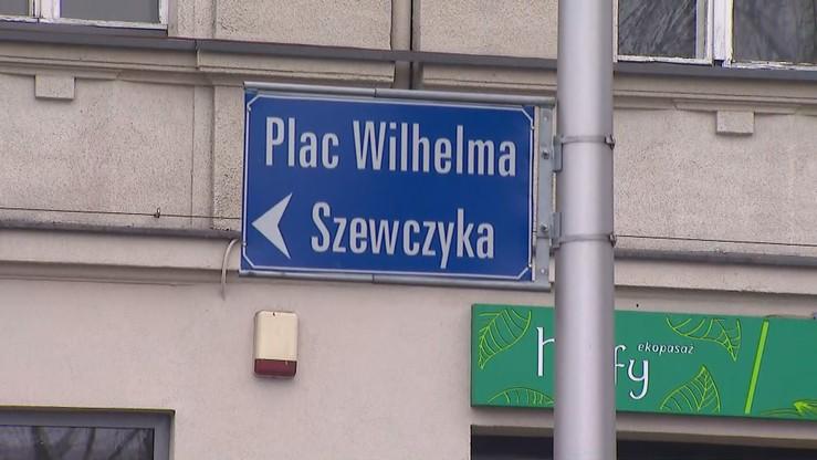 Nie chcą zmiany nazwy placu Szewczyka w Katowicach. Po świętach nadzwyczajna sesja rady miasta w tej sprawie