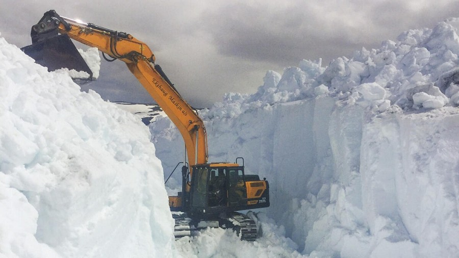 10-metrowe śnieżne tunele w Norwegii. Fot. BKK.