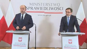 Rzecznik resortu sprawiedliwości: to Ziobro poprosił Piebiaka o rezygnację