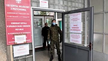Żołnierze wspierają już 640 szpitali i placówek medycznych