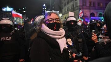 Strajk kobiet w Warszawie. Wiceminister składa zawiadomienie na Lempart