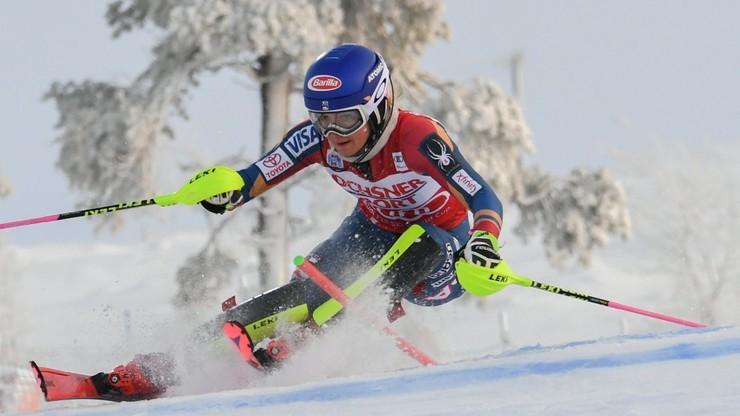Alpejski PŚ: Shiffrin wygrała slalom w Killington