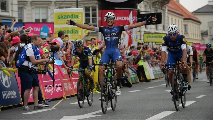 Martinelli wygrał Tour de Pologne w Warszawie