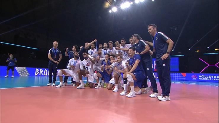 Liga Narodów siatkarzy: Słowenia bez szans! Francja z brązowym medalem