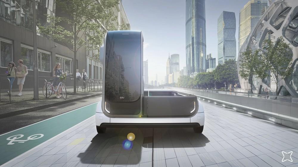 """Pojawią się """"drogowe pociągi"""" z elektrycznych pojazdów dostawczych EAV"""