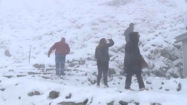 Zima na Kasprowym Wierchu