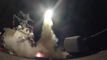 UE akceptuje atak sił USA na bazę lotniczą w Syrii