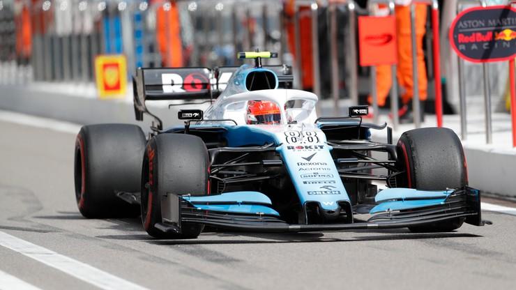 Formuła 1: Kubica odpadł w pierwszej części kwalifikacji w Soczi