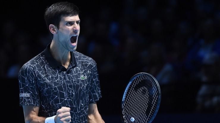 ATP Finals: Djokovic gładko pokonał Isnera