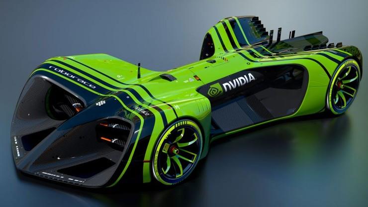 Autonomiczny bolid wyścigowy - zaprojektowała go Nvidia
