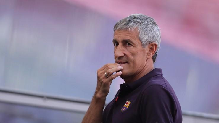 Quique Setien oficjalnie zwolniony z FC Barcelony