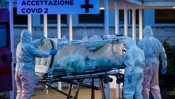 Ponad 2,5 tys. ofiar koronawirusa we Włoszech. Kilkaset zgonów w ciągu doby