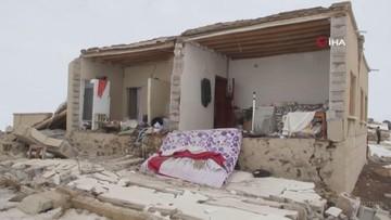 Zawalone budynki, ludzie pod gruzami. Trzęsienie ziemi w Turcji