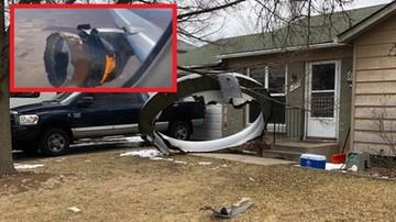 Zapalił się silnik, odpadały fragmenty samolotu. Na pokładzie 241 osób