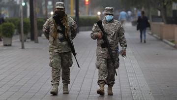 """""""Jak zakładnicy; wojsko na ulicach"""". Polacy z Peru apelują o powrót do kraju, są przerażeni"""