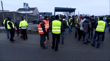 """Rolnicy nie wpuścili ciężarówki do zakładu. """"Przywożą z Belgii mięso, które jest ze strefy ASF"""""""