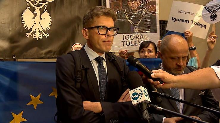 Wiceprezes warszawskiego SO odmówił dopuszczenia sędziego Tuleyi do pracy