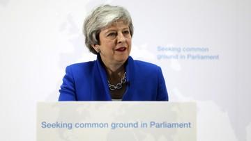 Brytyjska premier zgadza się na głosowanie dot. drugiego referendum ws. brexitu