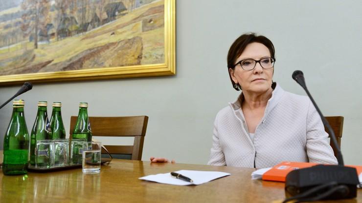 Ewa Kopacz: likwidacja luki VAT i walka z przestępczością była priorytetem mojego rządu