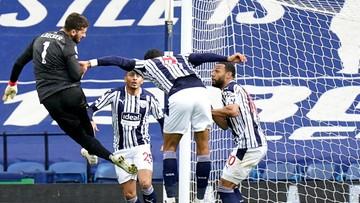 Premier League: Liverpool wygrał po golu... Alissona