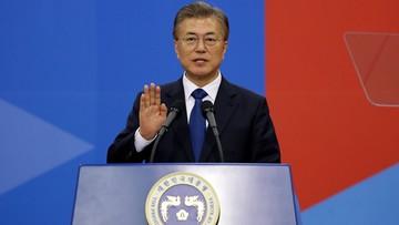 Mun Dze In zaprzysiężony na prezydenta Korei Płd.
