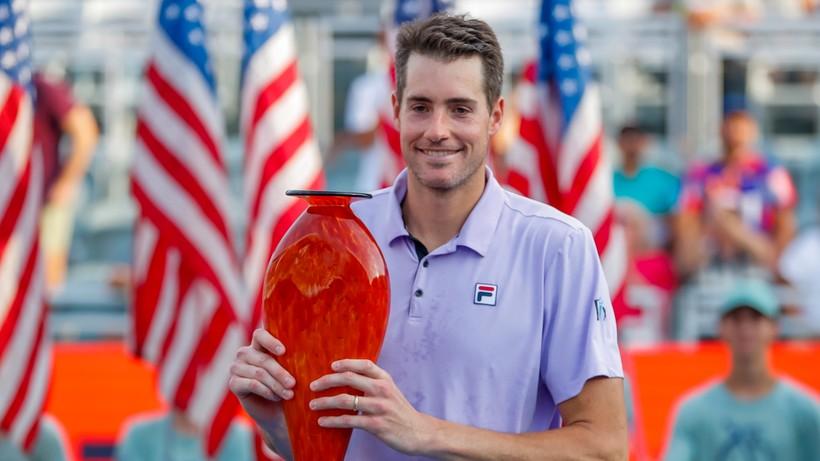 ATP w Atlancie: 18. tytuł Johna Isnera