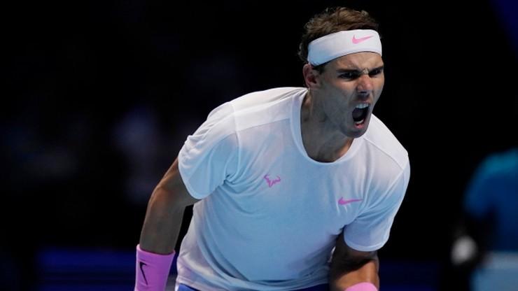 ATP Finals: Nadal wygrał z Tsitsipasem i czeka na wieczorny mecz