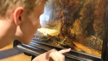 """W Krakowie można obejrzeć """"Krajobraz z miłosiernym Samarytaninem"""" Rembrandta"""