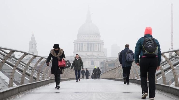 Zanieczyszczone powietrze w Londynie. Władze wydały ostrzeżenie najwyższego stopnia