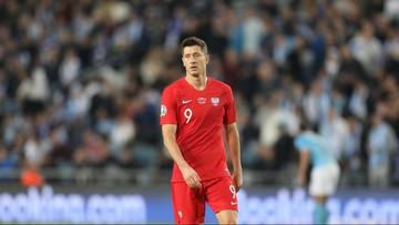 """Kibic wybiegł na murawę podczas meczu Polska-Izrael. Lewandowski przyznał, że """"był spokojny"""""""
