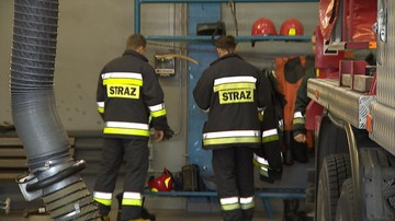 Pożar w fabryce farb i lakierów w Dębicy. Jedna osoba trafiła do szpitala