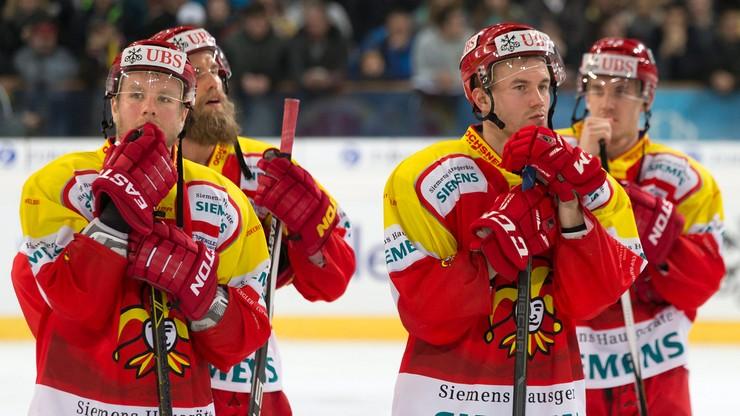 Kibice Jokerit Helsinki protestują przeciwko grze z Dynamem Mińsk