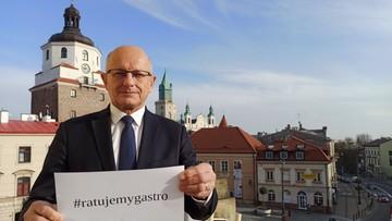 Prezydent Lublina zakażony koronawirusem