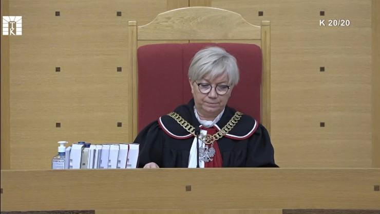 Julia Przyłębska: prośba KE to wkraczanie w suwerenność polskich organów państwowych