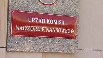 Dwa nowe podmioty na liście ostrzeżeń Komisji Nadzoru Finansowego