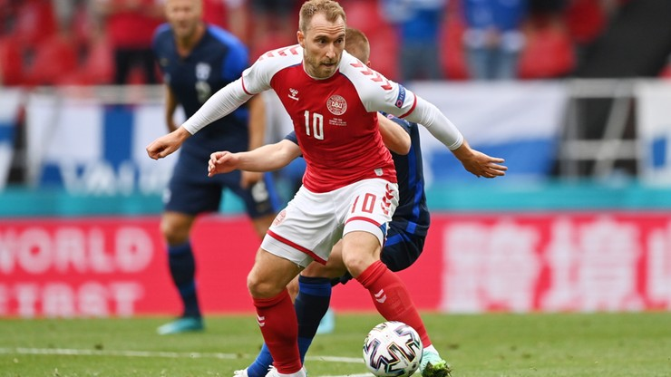 Euro 2020: Nowe wieści ws. stanu zdrowia Christiana Eriksena