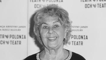 Nie żyje aktorka Krystyna Kołodziejczyk
